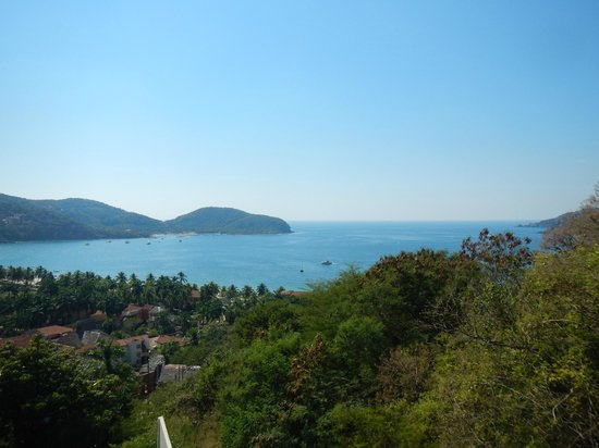 Hotel Cinco Sentidos: View from Grand Suite