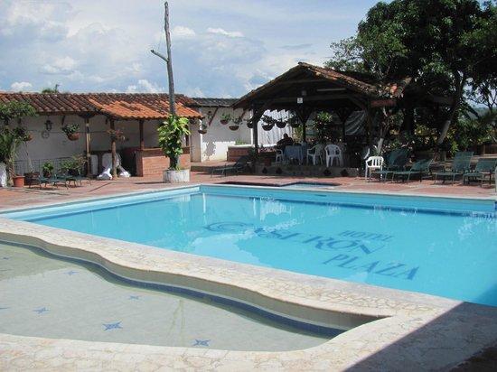 Hotel Caseron Plaza: Pool area