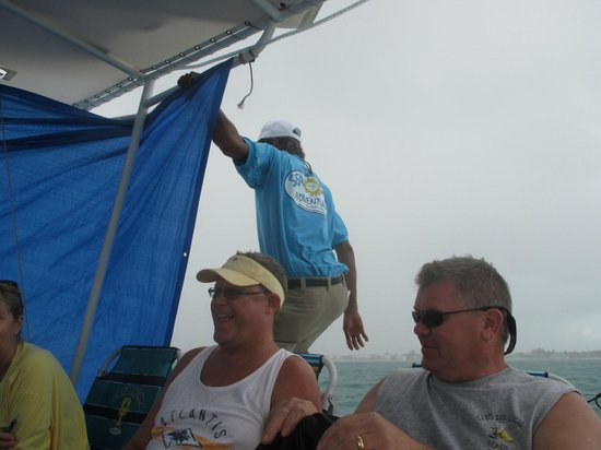 Searious Adventures: Putting up tarps for the squall