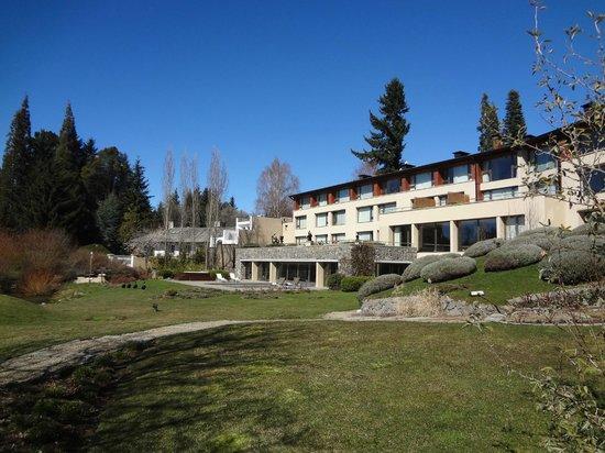 El Casco Art Hotel: Vista do jardim do hotel.