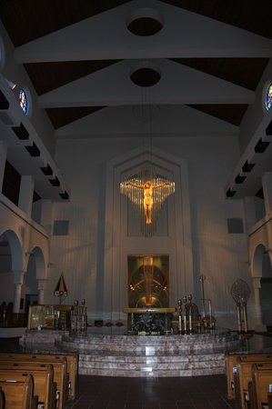 Basilica of the National Shrine of Mary, Queen of the Universe : The Altar