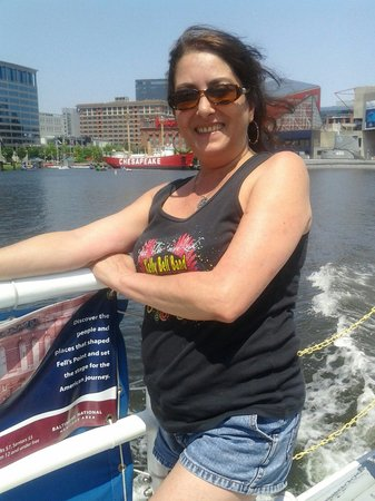 Baltimore Water Taxi: Heading to fells point