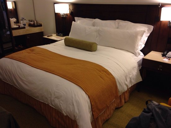 Bogota Marriott Hotel: Most comfortable bed on the planet?  Just maybe...