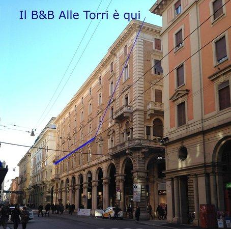 Alle Torri: Facciata del B&B