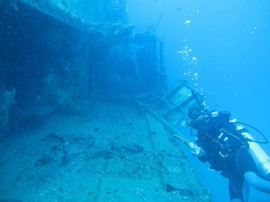 Manini Dive Company: Sea Tiger Wreck