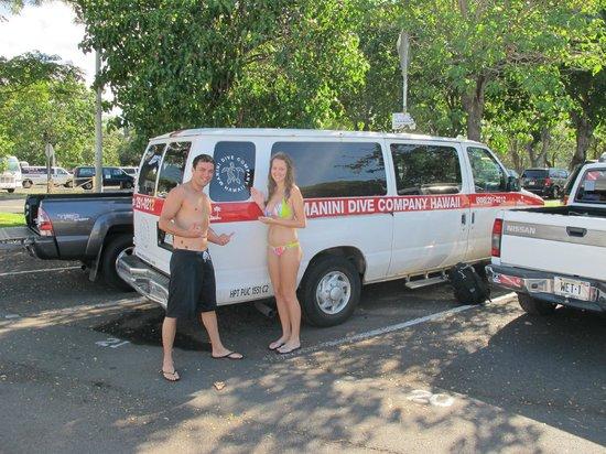 Manini Dive Company: Max's VAN :)