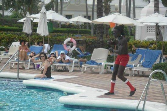 Hotel Riu Palace Punta Cana: aqua gym