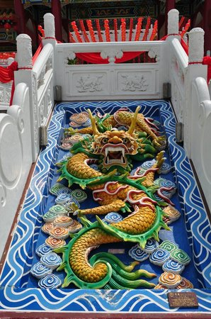 Thean Hou Temple : Mighty dragon