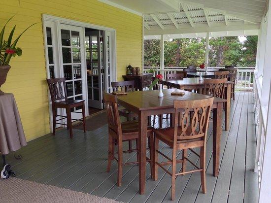 Kalaekilohana: The Lanai, we had breakfast here every morning
