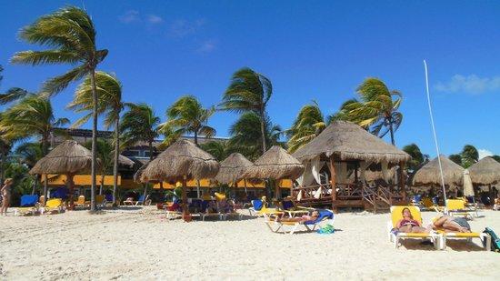 Iberostar Tucan Hotel: La playa