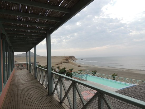 Chicama Surf Hotel & Spa: View of the point