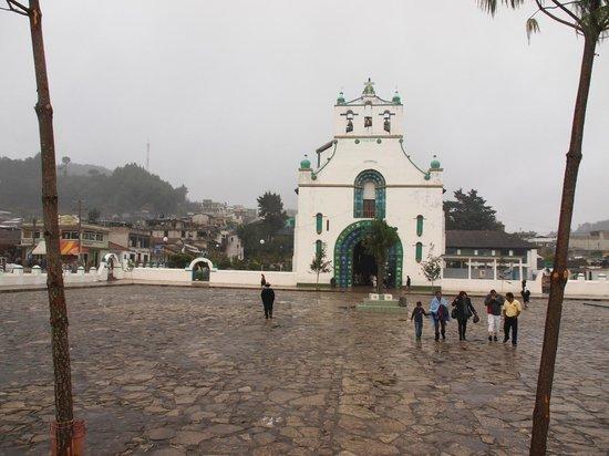 Atrio de San Juan Chamula