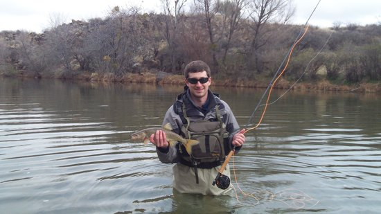 Trouter for life picture of sedona fly fishing for Arizona fly fishing