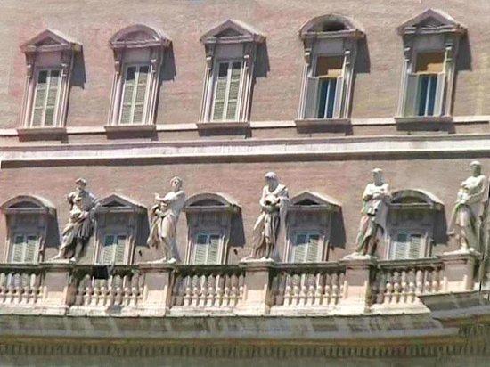 La famosa finestra da dove parla il papa foto di san - Finestra del papa ...