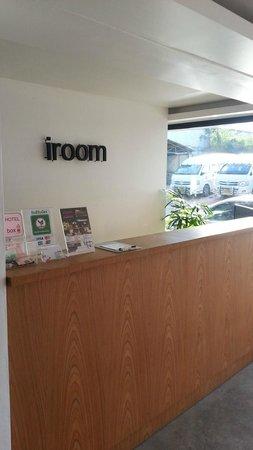 iroom Hotel : Front desk