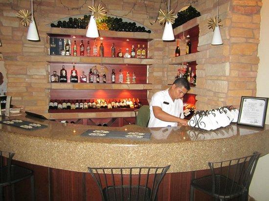 Hotel Plaza Colon: Small but beautiful bar in hotel