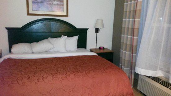 Country Inn & Suites By Carlson, Cincinnati Airport: Comfortable bed