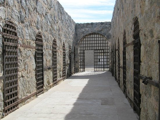 Yuma Territorial Prison State Historic Park: Cell block