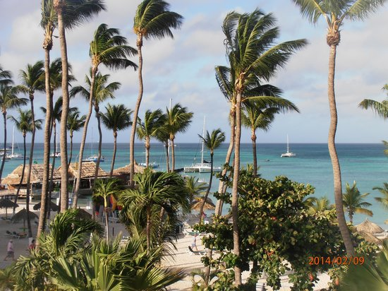 Holiday Inn Resort Aruba - Beach Resort & Casino: from our 4th floor partial view room=Ocean tower