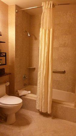 Seelbach Hilton: shower