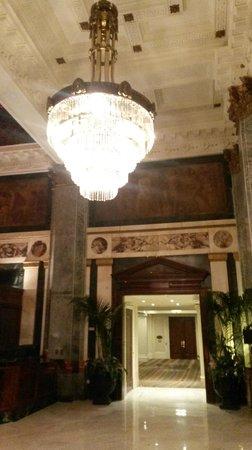 Seelbach Hilton: hotel lobby