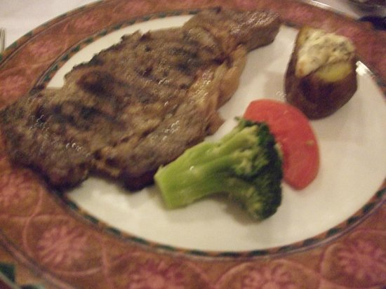 Hotel Riu Palace Tropical Bay: Steakhouse Dinner