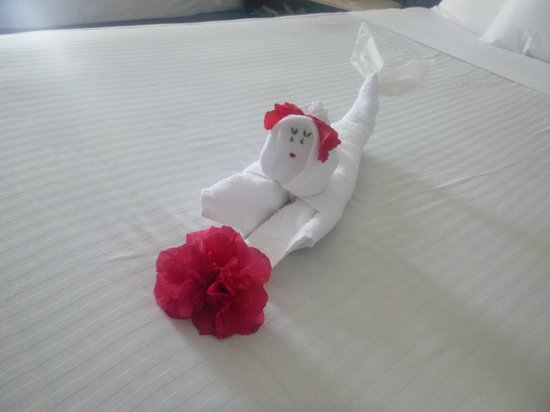 Azul Ixtapa Beach Resort & Convention Center: Cute little mermaid!
