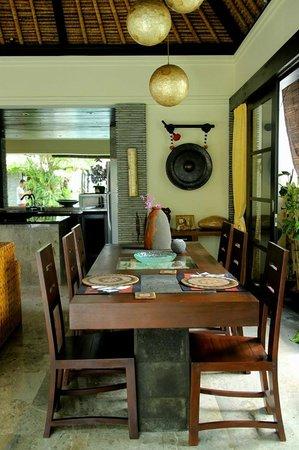 The Zala Villa Bali: dining