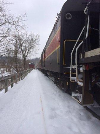 Cuyahoga Valley Scenic Railroad: The train