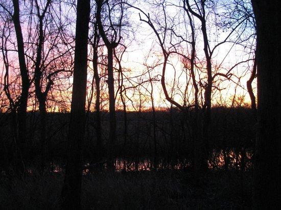 Fort Parker State Park: Sunset 2