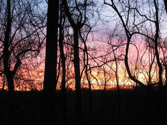 Fort Parker State Park: Sunset 3