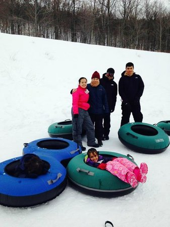 Whitetail Mountain Resort: My friends and I are ready!