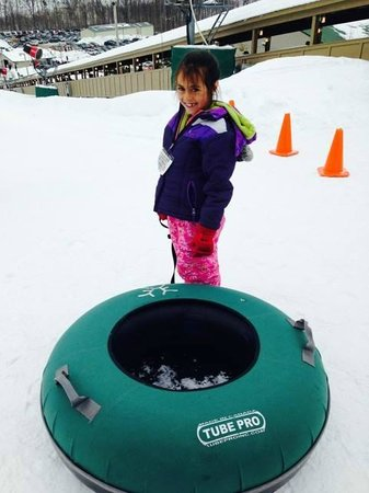 Whitetail Mountain Resort: She is ready to speed down!