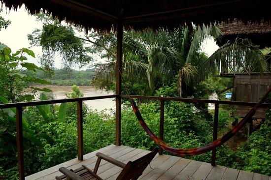 Sotupa Eco House : Terraza de la habitación