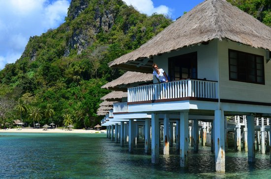 El Nido Resorts Apulit Island: love the stilted houses