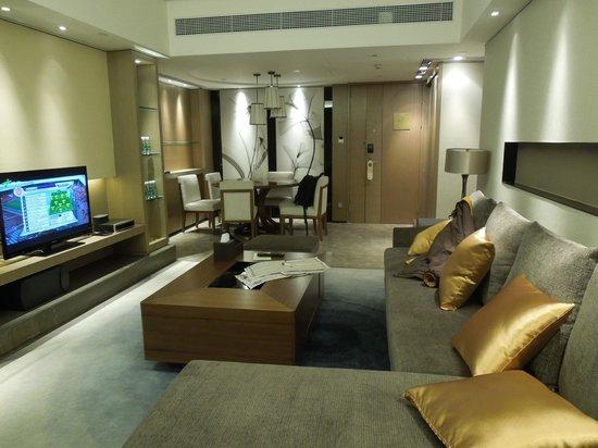 Ascott IFC Guangzhou: Living room