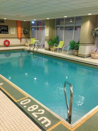 Hampton Inn & Suites Toronto Airport : pool
