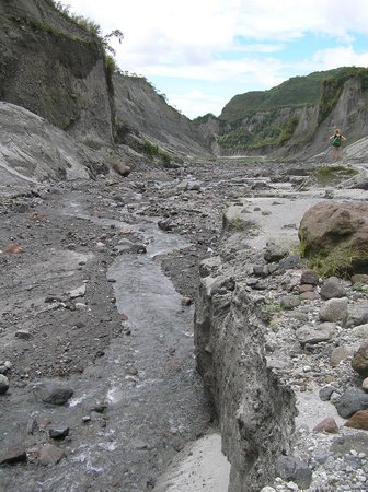 Red Planet Angeles City : Lahar Flow on Pinatubo
