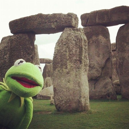 The English Bus: Kermie at Stonehenge