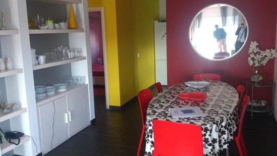 Duna Parque: Salle à manger