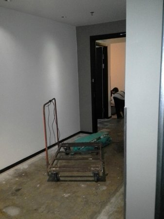 G Hotel Gurney: 6th Floor Remodel at 9am on Sunday
