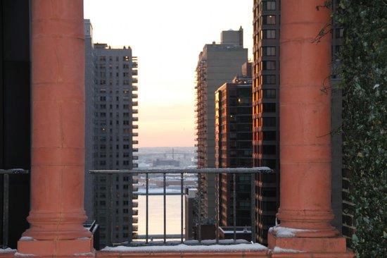Pod 39 Hotel : vue terrasse
