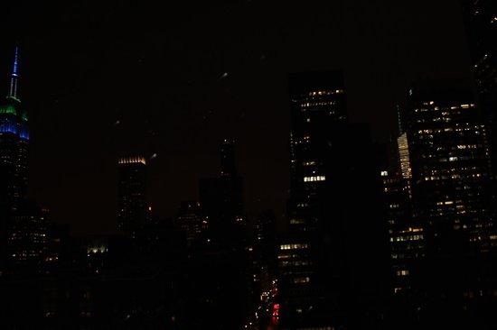 Pod 39 Hotel : vue de nuit de la terrasse