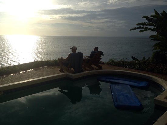 Bluefields Bay Villas: Watching the sunset