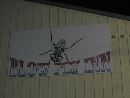 The Blow Fly Inn: Sign