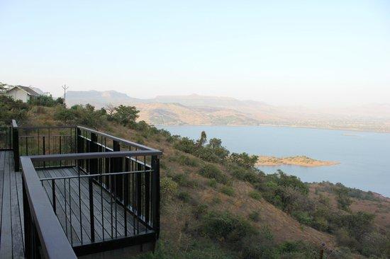 Lobby View Picture Of Tungi Lake Pavna Lonavala