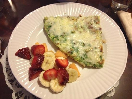 Aska Lodge B&B : delicious frittata