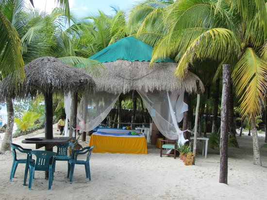 Playa Palancar : Thi is the beach spa area