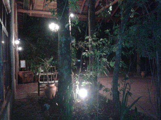 La Aldea de la Selva Lodge: loby