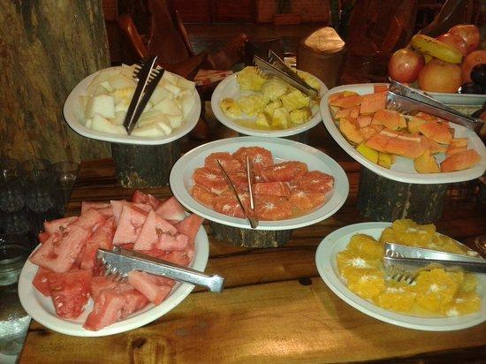 La Aldea de la Selva Lodge : desayuno